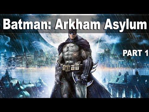 Batman: Arkham Asylum (Прохождение на стриме) | #1