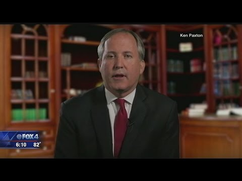 Texas Attorney General Ken Paxton says he's 'standing and fighting' fraud charges