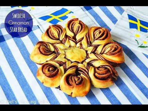 swedish cinnamon star bread