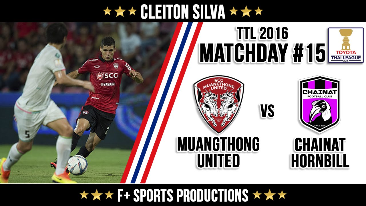 Download Cleiton Silva x Chainat Hornbill ● Highlights ● Matchday #15 ● TPL 2016