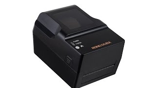 product review rp400 thermal transfer barcode printer rongta tech