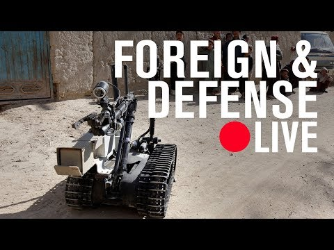 Striking power: How cyber, robots, and space weapons change the rules for war | LIVE STREAM