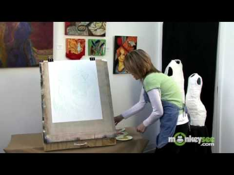 Basic Acrylic Painting - Canvas Prep and Undercoat