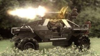 Halo Mega Bloks Warthog Resistance - Unboxing & Review deutsch! Halo 4