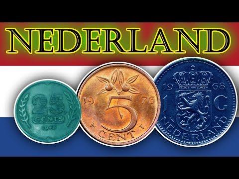 NEDERLAND GULDEN Dutch guilder COINS