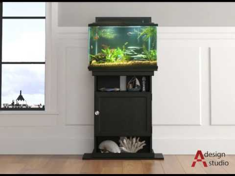 Altra Furniture 5695325COM  Flipper Aquarium Stand