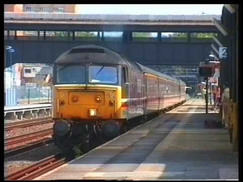 Trains at Kensington Olympia Summer 1994 a film by Fred Ivey