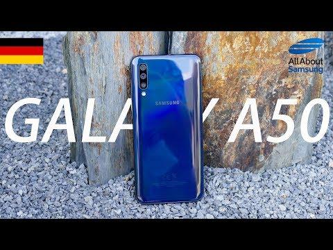 Samsung Galaxy A50 Unboxing Deutsch 4k