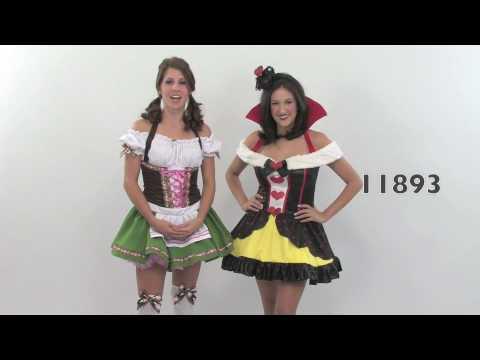 CHRYSTAL: Sexy leg avenue costumes