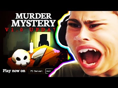 Reacting To The NEW Hypixel Murder Mystery UPDATE!