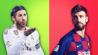 Why do Sergio Ramos and Gerard Piqué hate each other?