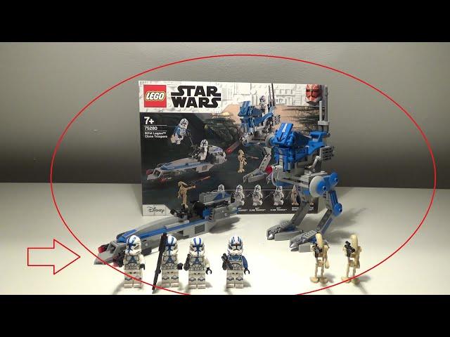 Darauf haben sie alle gewartet! Lego Star Wars 501st Battlepack (75280)| Brick on Block| Review|