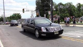 Jersey City, NJ Officer Melvin Santiago Funeral 7-18-14