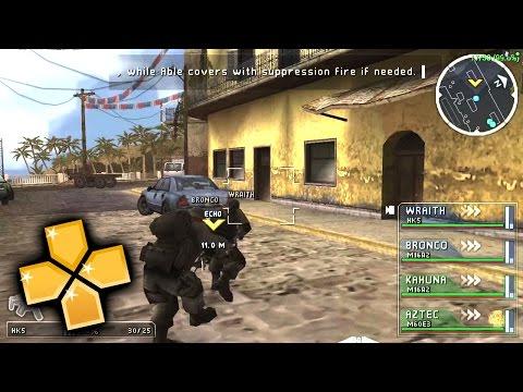 SOCOM US Navy Seals Tactical Strike PPSSPP Gameplay Full HD / 60FPS