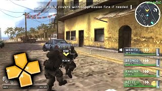 SOCOM US Navy Seals Tactical Strike PPSSPP Gameplay Full HD / 60FPS
