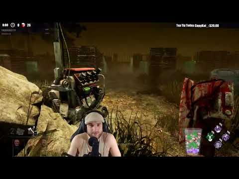 Dead by Daylight RANK 1 HUNTRESS! - DYING LIGHT + 1 HOOK = VERY STRONG!