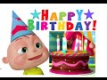 Happy Birthday Song | Videogyan 3d Rhymes | Nursery Rhymes For Children video