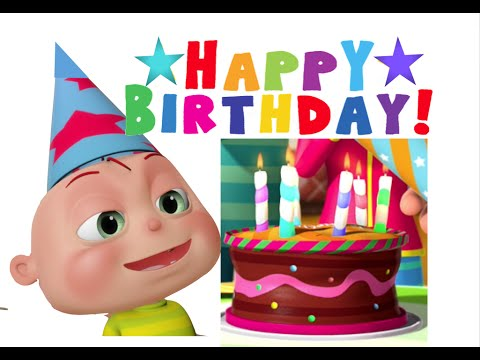 Happy Birthday Song  gyan 3D Rhymes  Nursery Rhymes For Children