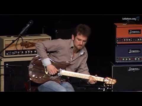 BACCE Guitars par Brice Delage - Le Salon de la Belle Guitare - Guitares au Beffroi 2015