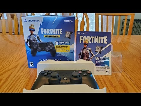 Fortnite Neo Versa Bundle Unboxing!  (Neo Versa Skin Review And Gameplay)