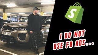 I do not use Facebook Ads? Shopify Dropshipping