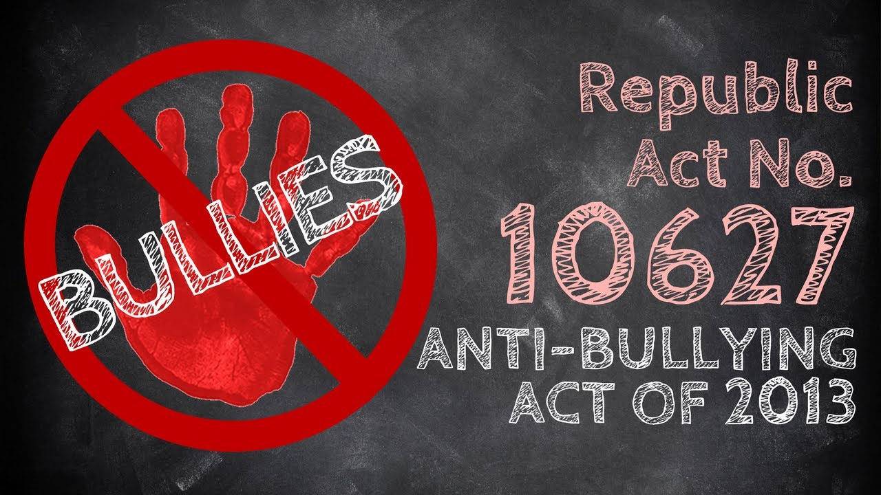 anti bullying act of 2012 New jersey's anti-bullying bill of rights act bi-annual report to the board of education monday, february 6th, 2012.
