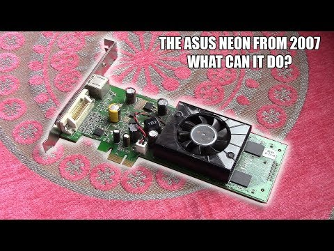 Strange Graphics Cards - The PCI-E x1 Asus Neon