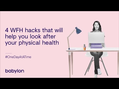 Working from home: hacks to stay healthy