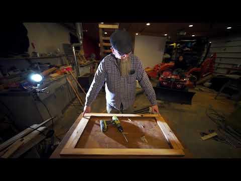 DIY frame ideas using reclaimed wood in Detroit 7 of 9