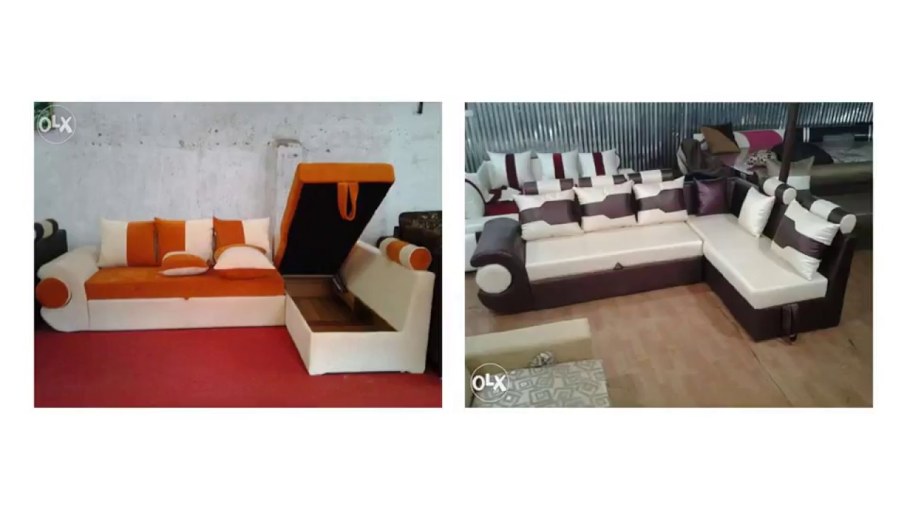 L Shape Sofa Design With Storage Ideas Youtube