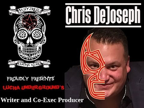 Chris DeJoseph stops by the #Way2Real #LuchaKliq party to celebrate Lucha Underground season 4 news