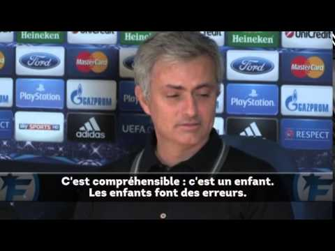 Mourinho ' Eden Hazard is a kid '