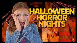 Halloween Horror Nights at Universal Hollywood ft. Stranger Things Maze | Sophie Fergi
