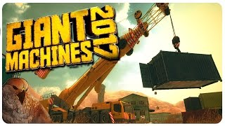 Giant Machines 2017 - Mountain Crushing Bagger | Let's Play Giant Machines 2017 Gameplay (PC)