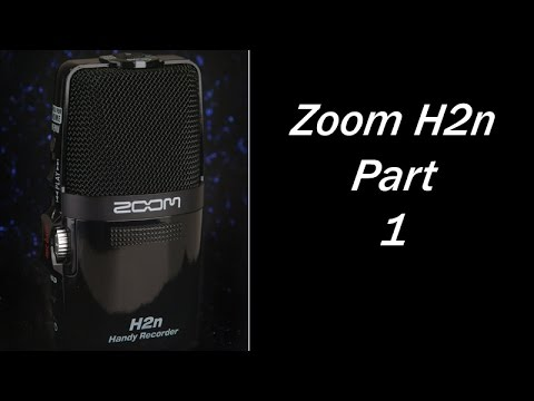 Using the Zoom H2N Audio Recorder Part 1