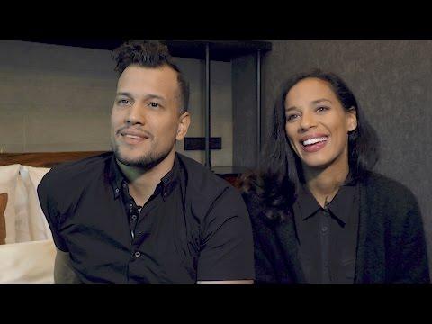 Johnnyswim interview - Amanda and Abner (part 1)