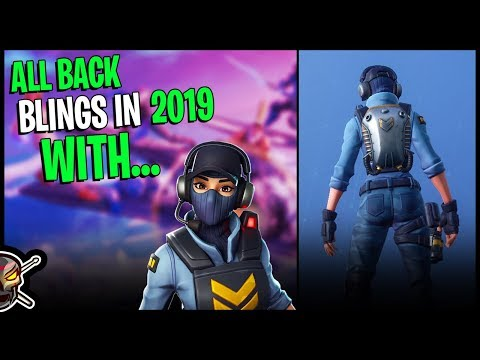 All Back Blings In 2019 With WAYPOINT - Fortnite Cosmetics