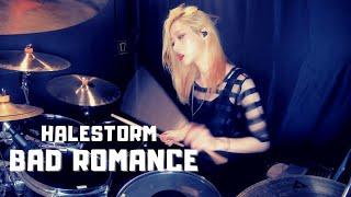Halestorm - Bad Romance (Lady Gaga) | DRUM COVER (GANI DRUM)