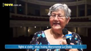 TGVH: Symphony Orchestra: Maryvonne Le Dizès in HBSO Vietnam