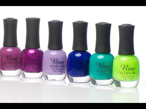 Sally Beauty Supply Nina Ultra Pro Nail Polish Haul