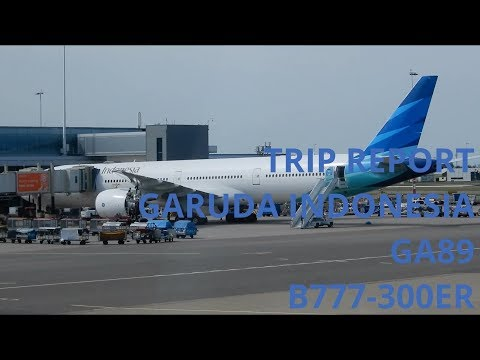 TRIP REPORT: GARUDA INDONESIA GA89  ECONOMY CLASS AMSTERDAM TO JAKARTA B777-300ER (PK-GIJ)
