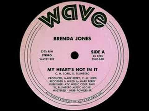 My Heart's Not In It - Brenda Jones (80's Disco)