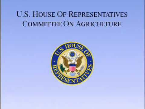 Subcommittee on Horticulture, Research, Biotechnology, and Foreign Agriculture – Public Hearing