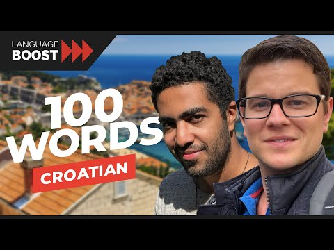 100 Words All Croatian Learners Must Know - Learn the most important words in Croatian