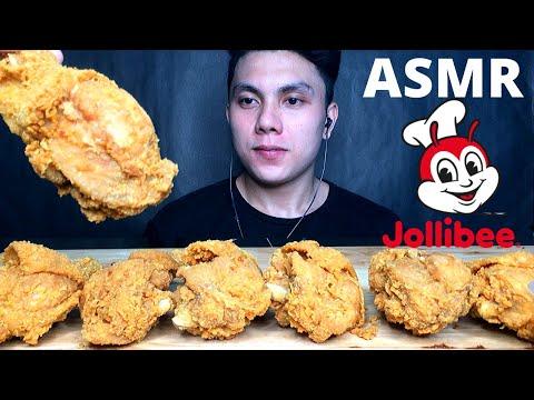 ASMR JOLLIBEE CHICKEN JOY MUKBANG PINOY | FILIPINO FOOD (No Talking) EATING SOUNDS | Dave ASMR