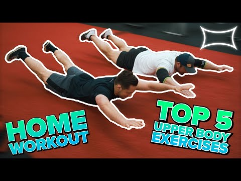 Yet Another Home Workout: Top 5 Upper Body Exercises Without Equipment