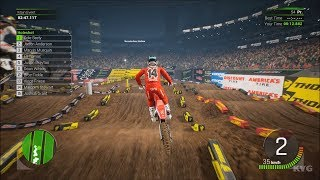 Monster Energy Supercross 2 Atlanta Mercedes Benz Stadium Georgia Gameplay HD
