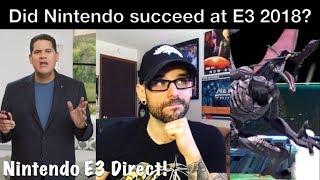 Did Nintendo's E3 2018 Direct DELIVER or DISAPPOINT? (Super Smash Bros) | Ro2R