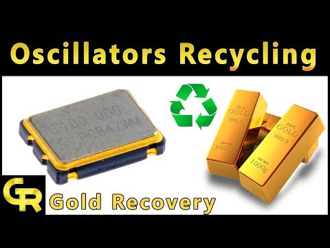 ♻Oscillators Recycling | Gold and Silver Recovery from Oscillators