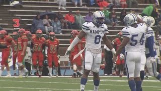 Hampton dominates FAMU 33-0 to snap two-game losing skid